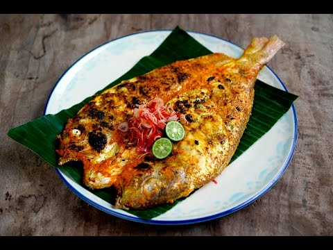 Balinese Style Grilled Fish