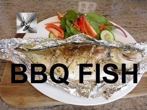 How to Cook whole fish on the BBQ