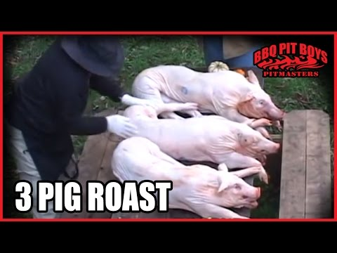 3 Pig Roast Barbecue by the BBQ Pit Boys