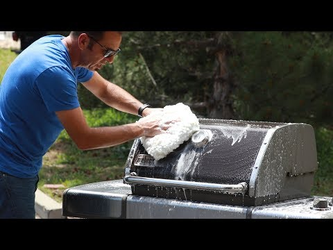 Barbeque Detail Washing & Cleaning