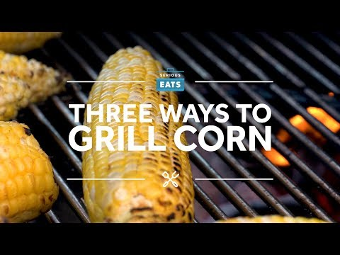 How to Grill a Corn