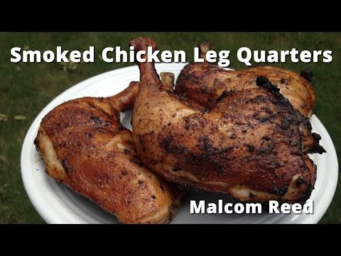 Smoked Chicken Leg Quarters