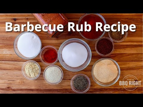 How to Make your own Barbecue Rub