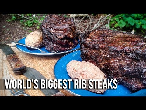World's Biggest Rib Steaks by the BBQ Pit Boys